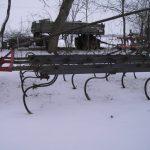 Kultivator mit vergrössertem Balken- und Scharabstand